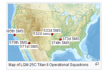 Titan II silo sites
