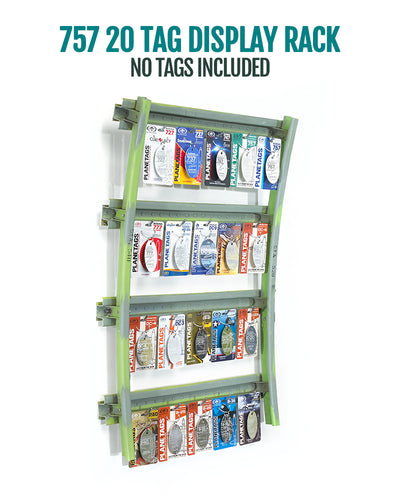 PlaneTags Display Racks