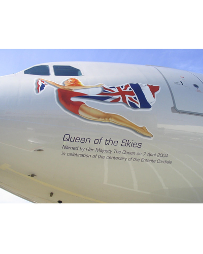 "Custom G-VEIL, the ""Queen of the Skies"""