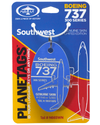 Custom Southwest 737 PlaneTag Tail# N665WN