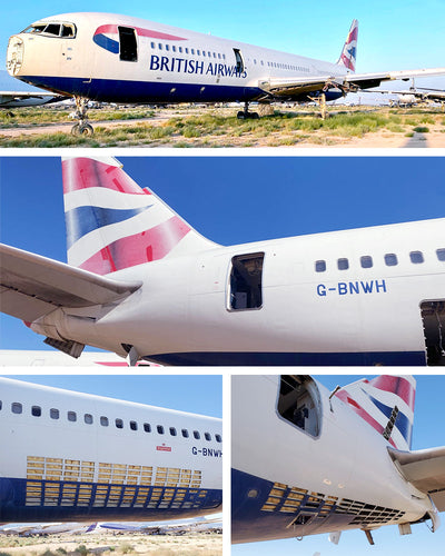 British Airways 767 - PLANETAGS TAIL #G-BNWH