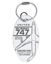Custom United Airlines Boeing 747 N198UA PlaneTag
