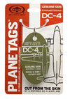 Custom DC-4 PlaneTag  Serial#50851
