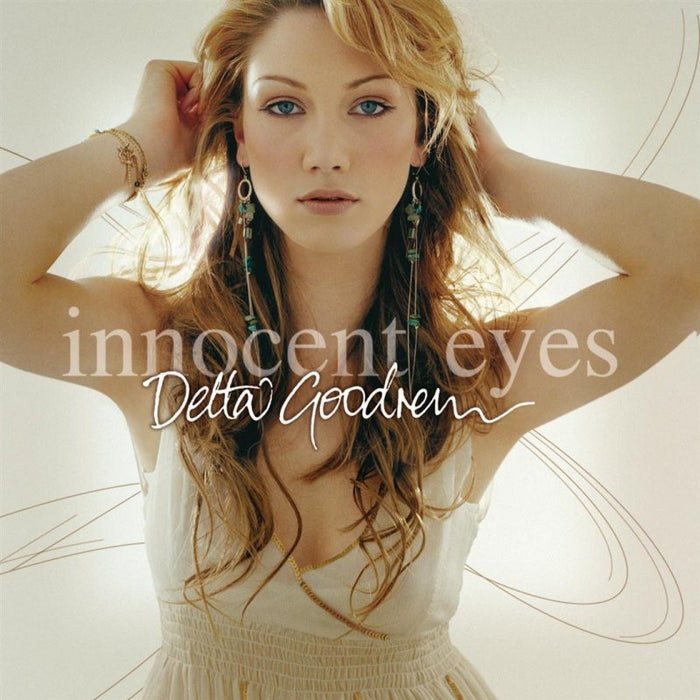 Delta Goodrem Innocent Eyes White Colour Vinyl LP