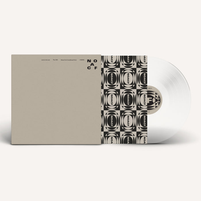 NOTES ON A CONDITIONAL FORM - 140G DOUBLE GATEFOLD PURE CLEAR VINYL