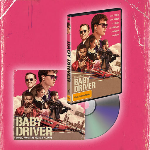 BABY DRIVER CD + DVD BUNDLE