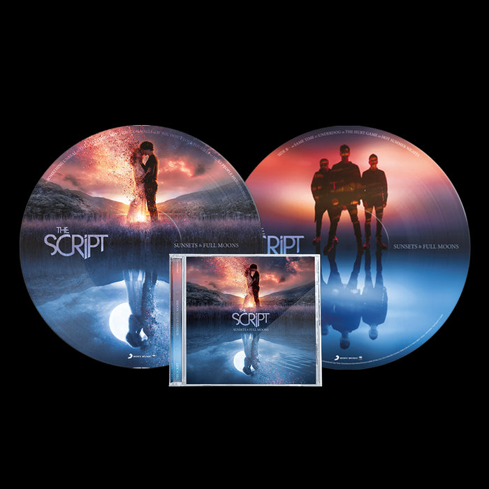SUNSETS & FULL MOONS - SIGNED CD + PICTURE DISC BUNDLE