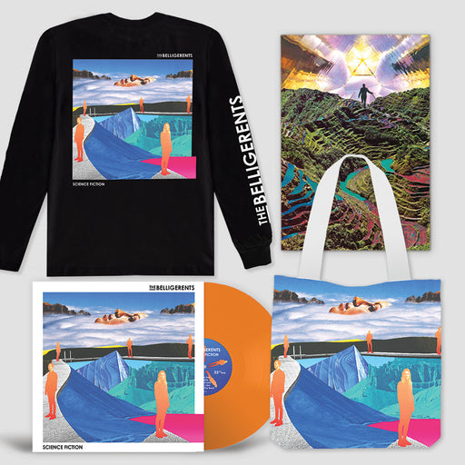Science Fiction – Deluxe Vinyl Bundle (Black Longsleeve)