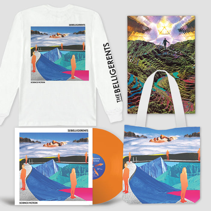 Science Fiction – Deluxe Vinyl Bundle (White Longsleeve)