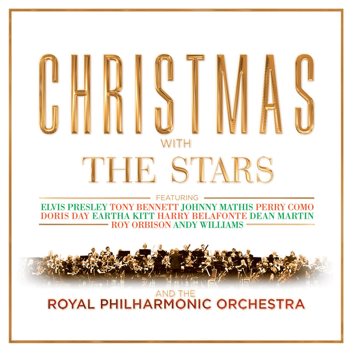 CHRISTMAS WITH THE STARS & THE ROYAL PHILHARMONIC ORCHESTRA (CD)