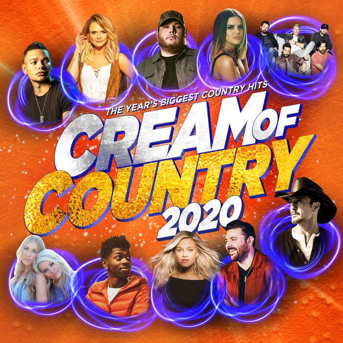 CREAM OF COUNTRY 2020 (CD/DVD)