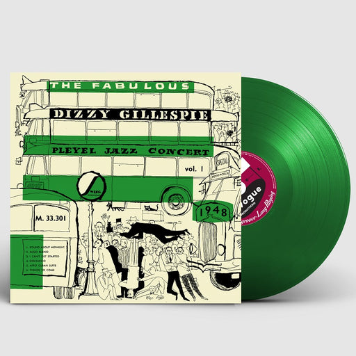 Dizzy Gillespie Pleyel Jazz Concert 1948 Colour Vogue Vinyl LP