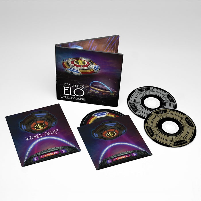 JEFF LYNNE'S ELO 'WEMBLEY OR BUST' LIVE 2CD BLU-RAY