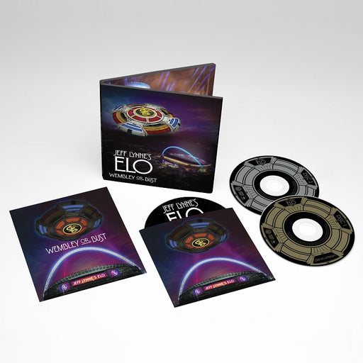 JEFF LYNNE'S ELO 'WEMBLEY OR BUST' LIVE 2CD DVD