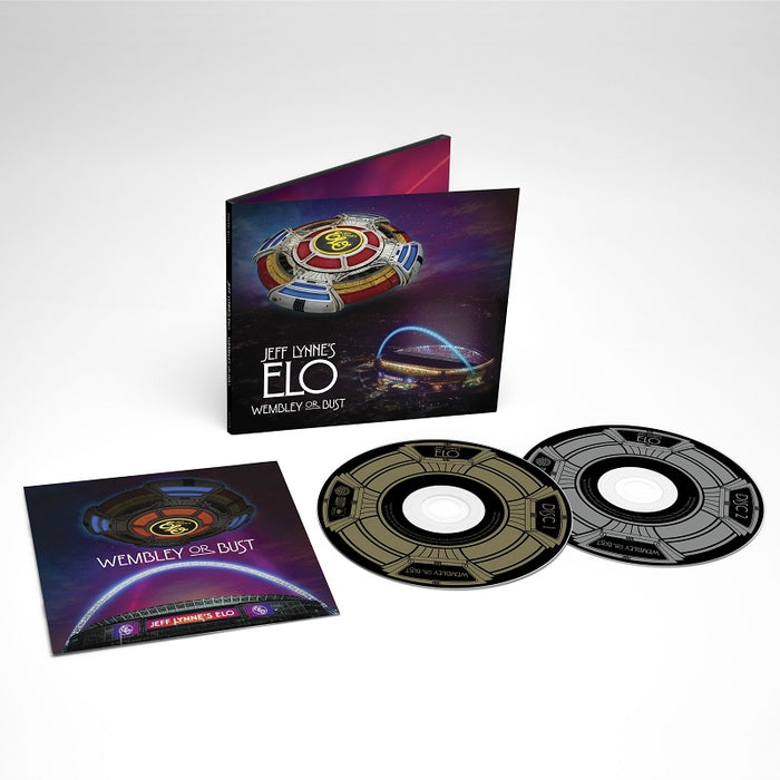 JEFF LYNNE'S ELO 'WEMBLEY OR BUST' LIVE 2CD