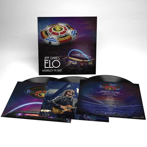 JEFF LYNNE'S ELO 'WEMBLEY OR BUST' LIVE (3 VINYL LP)