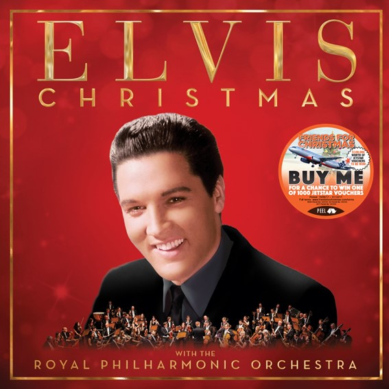 CHRISTMAS WITH ELVIS PRESLEY AND THE ROYAL PHILHARMONIC ORCHESTRA (DELUXE CD)