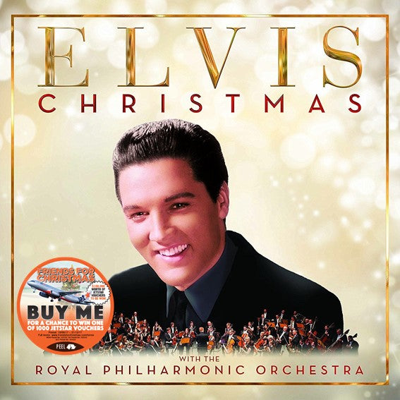 CHRISTMAS WITH ELVIS PRESLEY AND THE ROYAL PHILHARMONIC ORCHESTRA (CD)