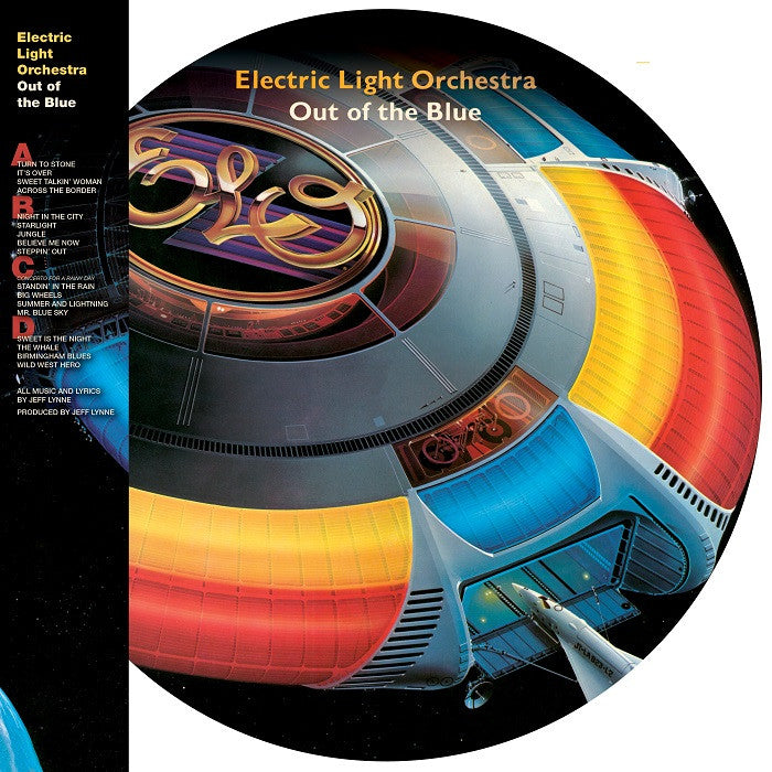 Lyric elo lyrics bruce : Electric Light Orchestra / Out of the Blue (2LP Picture Disk ...