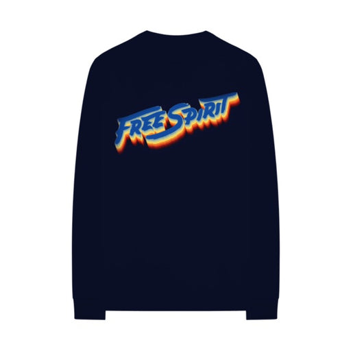 Free Spirit Rainbow Crewneck + CD Bundle