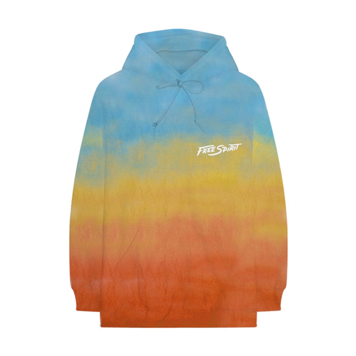 Free Spirit Sky Dyed Hoodie + CD Bundle