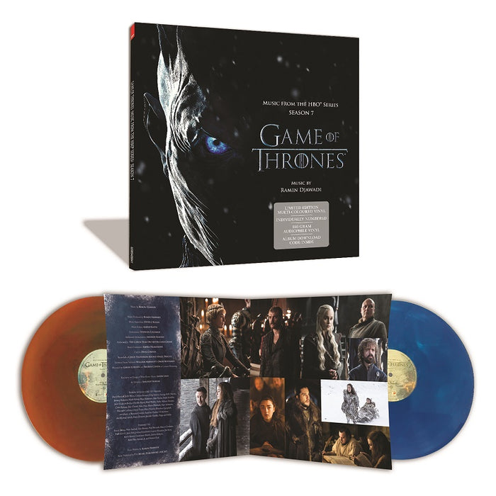 Game of Thrones Limited Edition Colour 2LP Vinyl