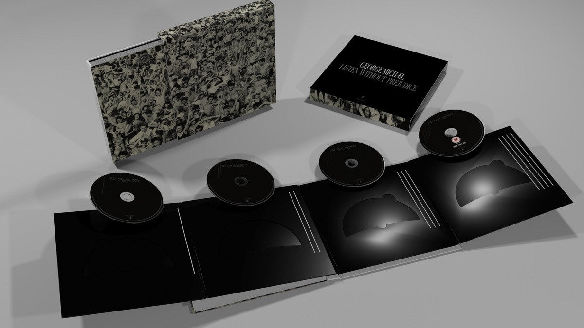 George Michael - Listen Without Prejudice Deluxe Boxset - 3D