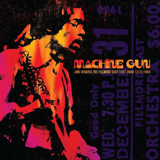 Machine Gun: Jimi Hendrix - The Fillmore East (Vinyl)