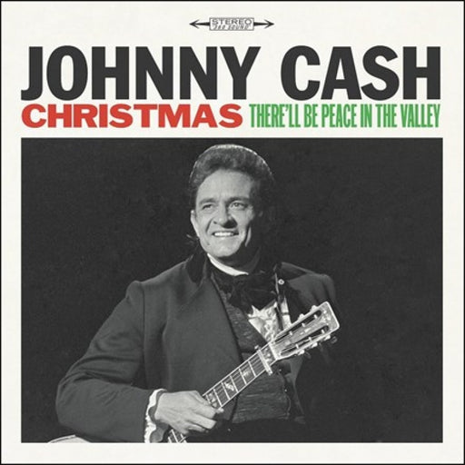 Johnny Cash Christmas: There'll Be Peace In The Valley Vinyl LP