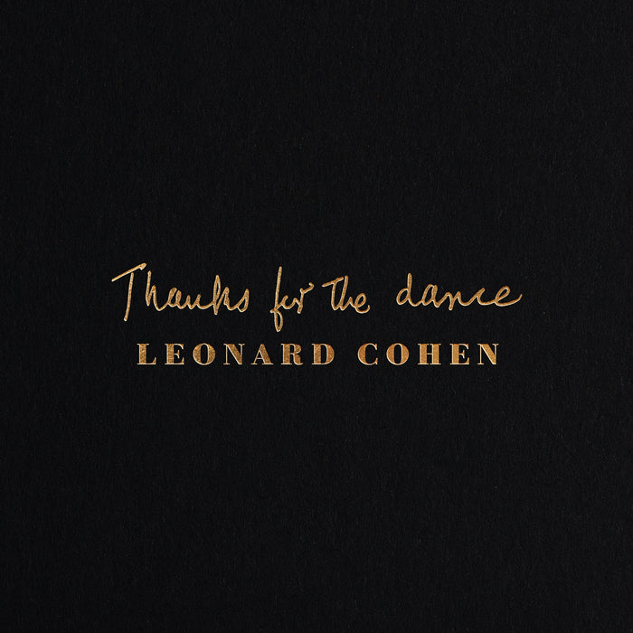 THANKS FOR THE DANCE (CD)