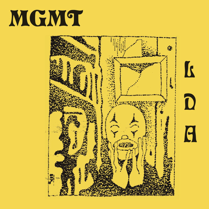 MGMT Little Dark Age Vinyl 2LP