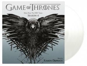 GAME OF THRONES SEASON 4 (LIMITED EDITION - COLOURED) (2LP)