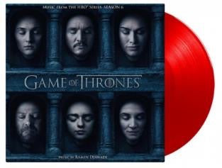GAME OF THRONES SEASON 6 (LIMITED EDITION RED VINYL) (3LP)