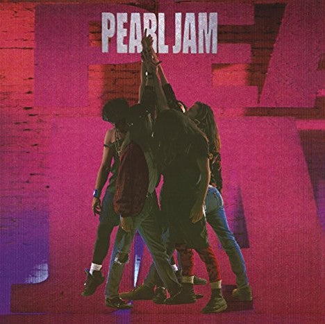 Pearl Jam TEN VINYL LP