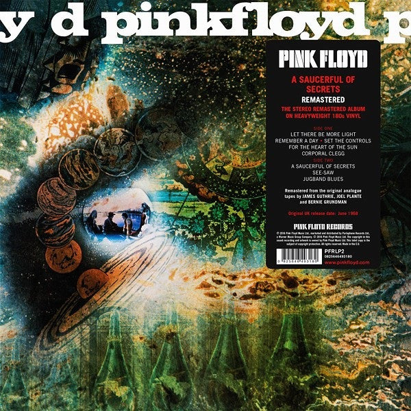 A Saucerful Of Secrets - 2016 Version (Vinyl)