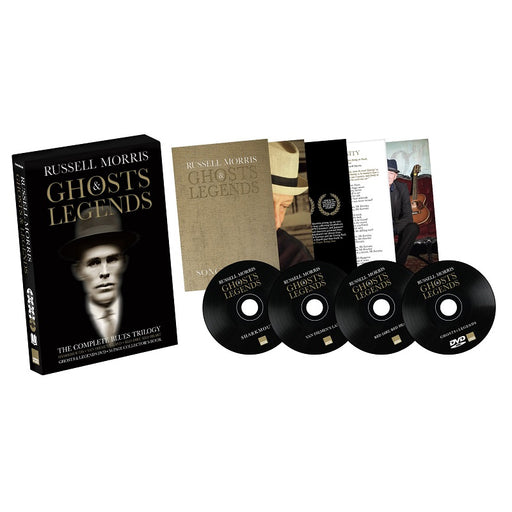 RUSSELL MORRIS GHOSTS & LEGENDS (DELUXE CD BOXSET)