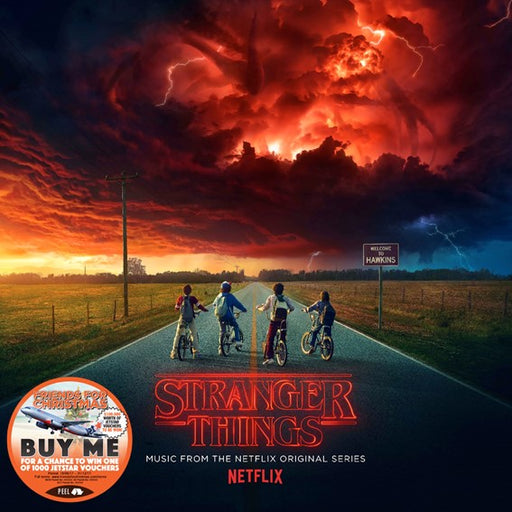 STRANGER THINGS: MUSIC FROM THE NETFLIX ORIGINAL SERIES (CD)