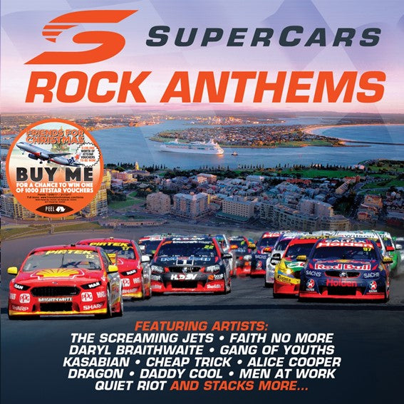 SUPERCARS AUSTRALIA ROCK ANTHEMS 2017 (CD)