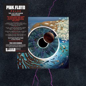 Pink Floyd merch PULSE (LIVE) 4LP Boxset // PREORDER