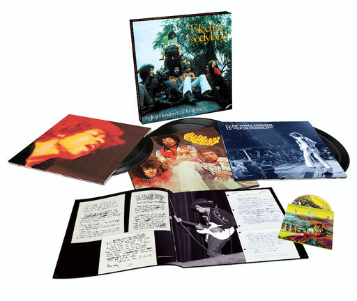 ELECTRIC LADYLAND - 50TH ANNIVERSARY DELUXE EDITION (6LP + BLU-RAY)