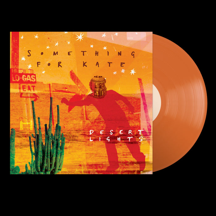"Desert Lights (12"" Orange Vinyl)"