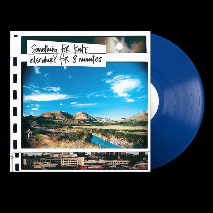 "Elsewhere For Eight Minutes (12"" Clear Blue Vinyl)"