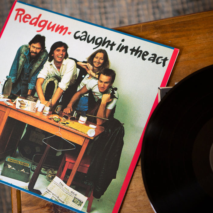 Redgum Caught In The Act 2LP Vinyl