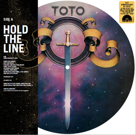 "HOLD THE LINE B/W ALONE (VINYL) (10"" PICTURE DISK)"
