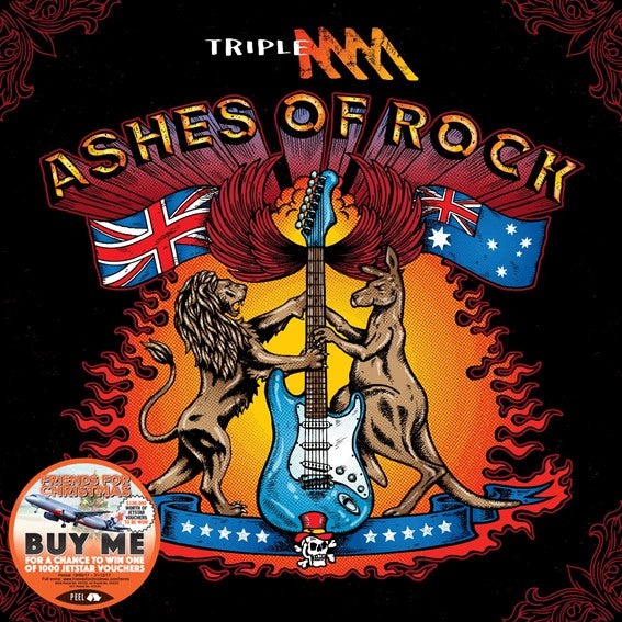 TRIPLE M ASHES OF ROCK (2CD)
