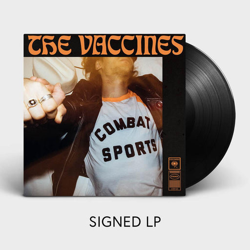 THE VACCINES COMBAT SPORTS (SIGNED limited edition VINYL)