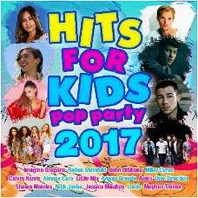 HITS FOR KIDS - POP PARTY 2017 (CD)