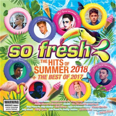 SO FRESH - THE HITS OF SUMMER 2018 + THE BEST OF 2017 (2CD)