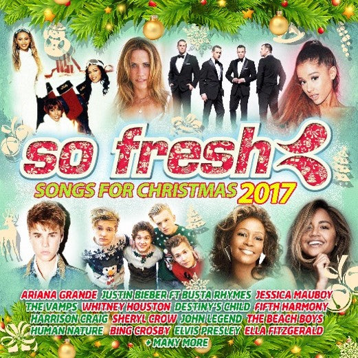 Various So Fresh The Songs For Christmas 2017 Cd The