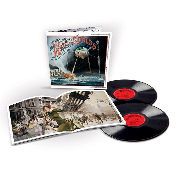 JEFF WAYNE'S MUSICAL VERSION OF THE WAR OF THE WORLDS (2LP)